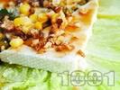 Рецепта Медено козе сирене с орехи, коняк и царвица